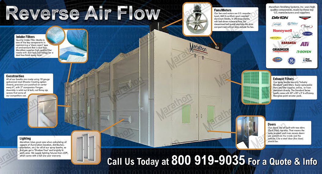 Truck & Equipment Reverse Air Flow