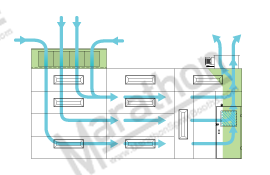 Semi Down Draft Airflow Diagram