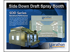 Automotive Side Down Draft Spray Paint Booths