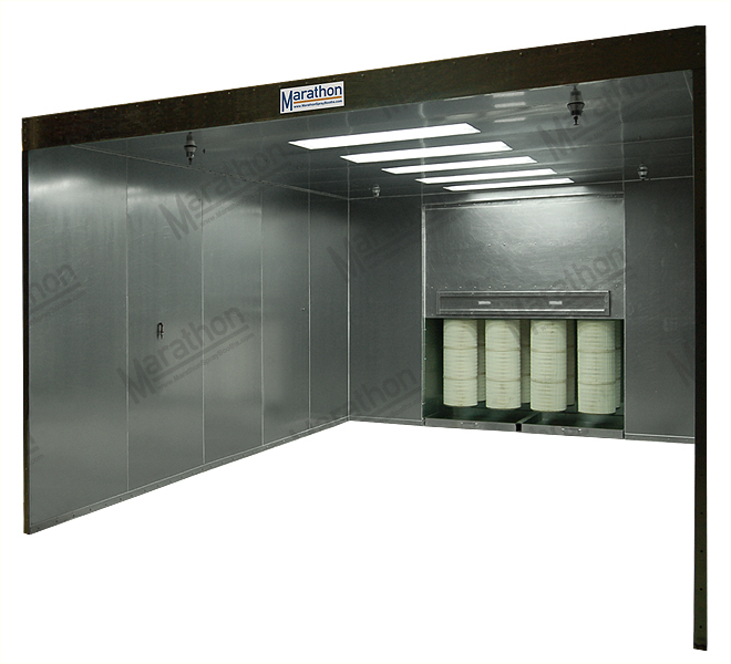 Powder Coating Spray Booths & Ovens