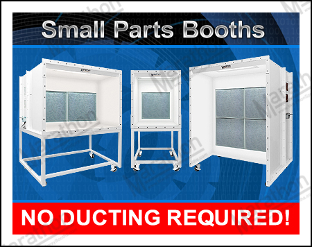 Small Parts Spray Paint Booths