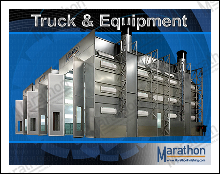 Truck & Equipment Spray Paint Booths