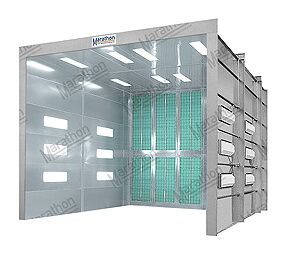 Industrial Finishing Spray Paint Booths