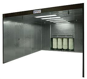 powder coating booths tab 4 paint booths marathon spray booths 800 919 9035 spray bake oven wiring diagram at gsmx.co