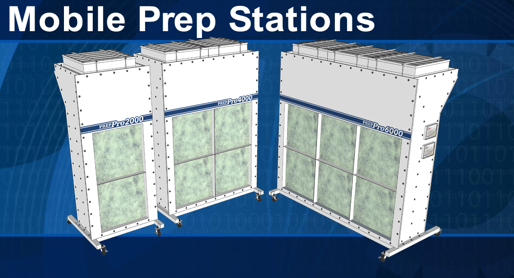 Mobile Prep Stations